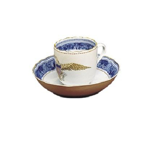 Diplomatic Eagle Cup and Saucer