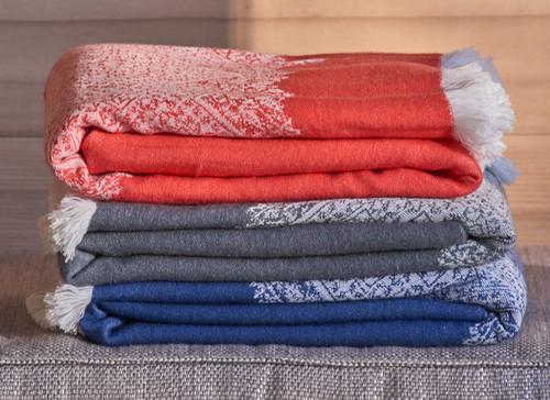 Fez Wool Throw | Indigo