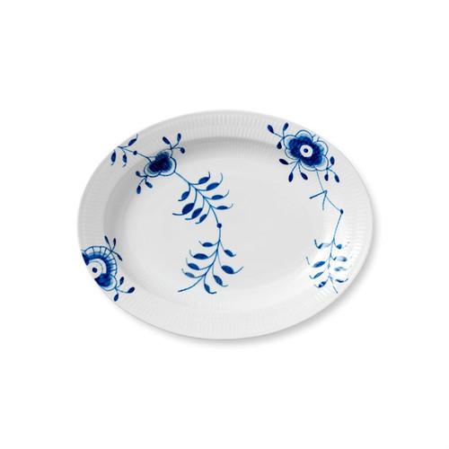 Blue Fluted Mega Large Oval Platter