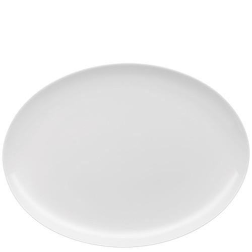 Jade Platter, oval, 13 3/4 inch
