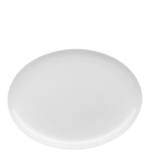 Jade Platter, oval, 11 3/4 inch