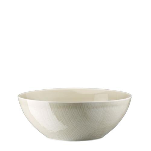Bowl, 9 1/2 inch   Mesh Cream