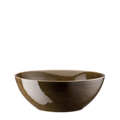 Bowl, 9 1/2 inch   Mesh Walnut