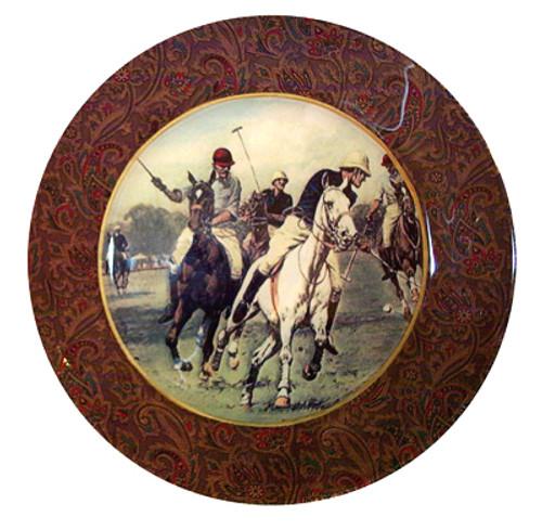 """7"""" Polo Decoupage Plate"""