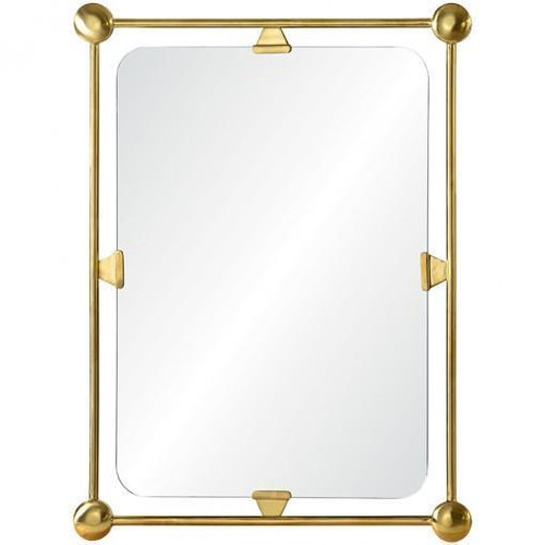 Burnished Brass Mirror by Celerie Kemble