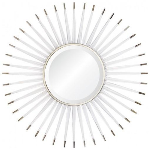 Acrylic & Nickle Starburst Mirror