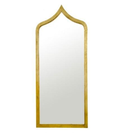 Adina Mirror in Gold Leaf
