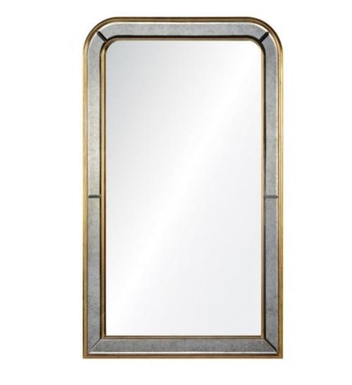 Phillipe mirror by Barclay Butera   Gold