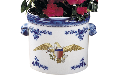 Diplomatic Eagle Cachepot