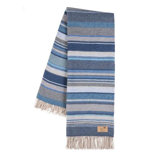 Milano Blue Italian Blanket