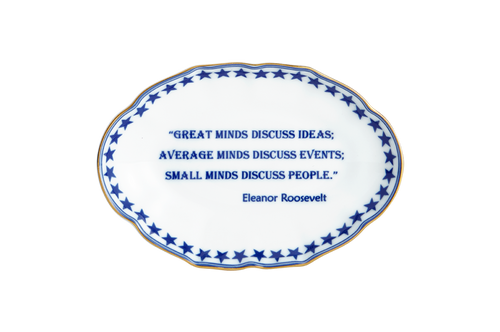 Great Minds Discuss Ideas (Eleanor Roosevelt)