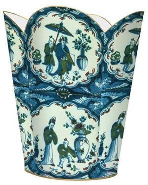 Chinese Porcelain Wastebasket