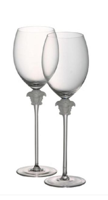 Versace Medusa Lumiere Red Wine Glass