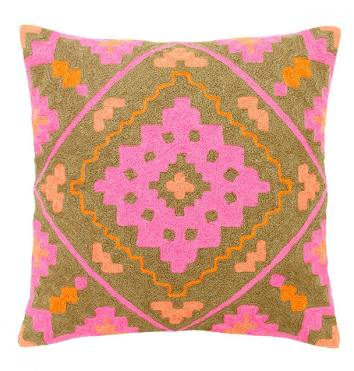 Intensity In Pink Decorative Pillow