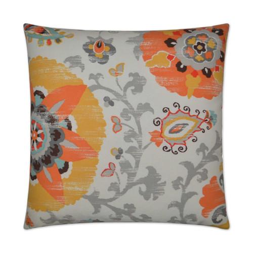 Silsila-Orange Pillow