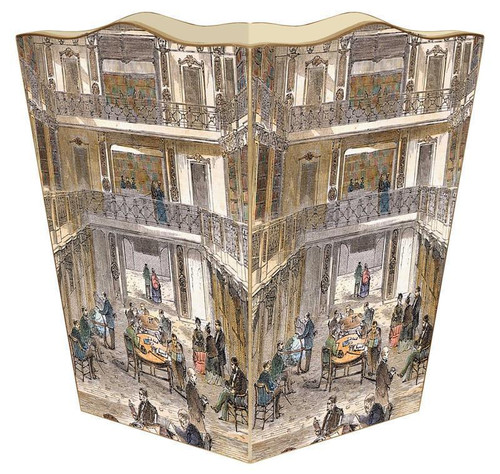 Library of Congress Wastepaper Basket