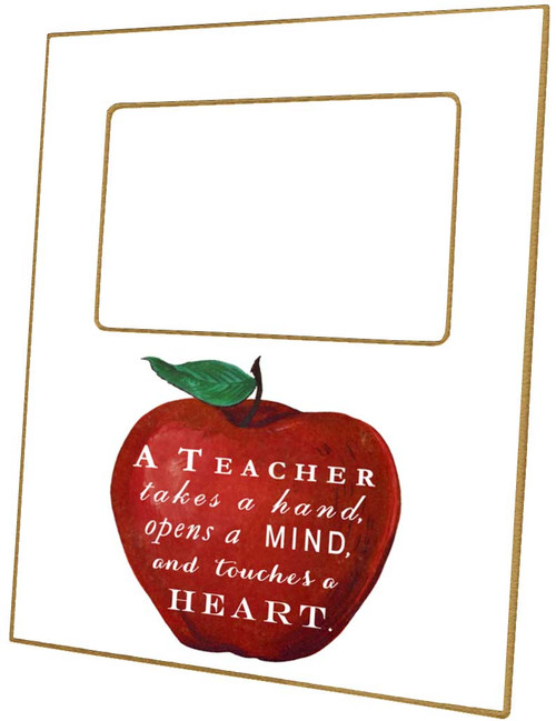 A Teacher Takes A Hand Picture Frame