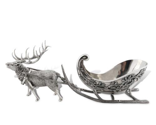 Reindeer Sleigh Centerpiece