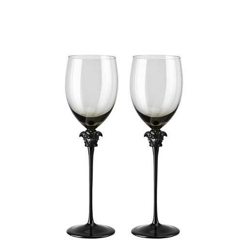 Red Wine Glass, set of two, 16 ounce   Medusa Lumiere Haze