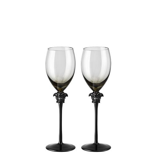 White Wine Glass, set of two, 11 ounce   Medusa Lumiere Haze