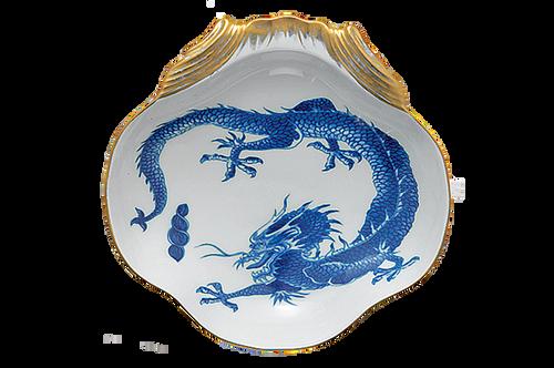 Blue Dragon Shell Dish