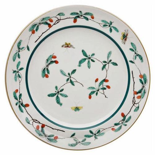 Mottahedeh Famille Verte Round Platter