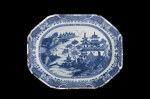 Blue Canton  Medium Platter
