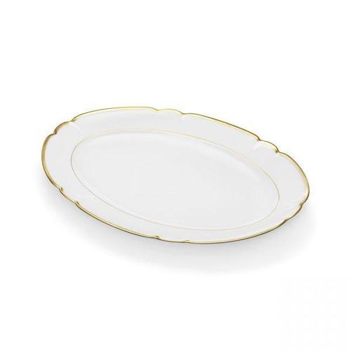 "Colette Gold 16"" Platter by R Haviland and C Parlon"