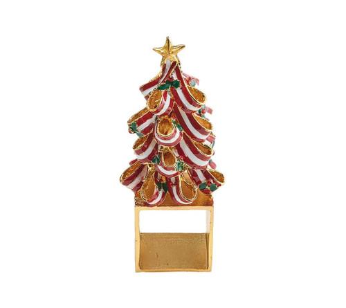 Holiday Tree Napkin Ring S/4