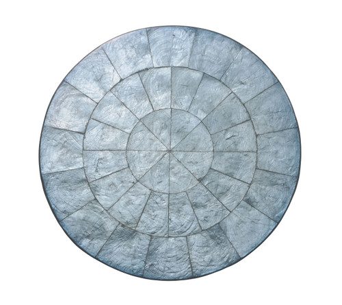 Capiz Shell Placemats S/4   Periwinkle