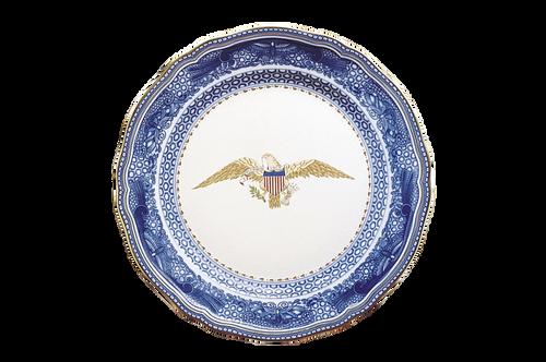 Diplomatic Eagle Plate