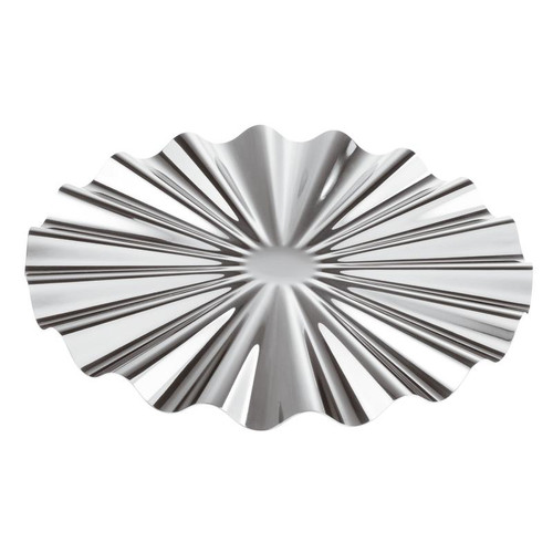 Kyma Silverplated on 18/10 Stainless Steel Show Plate,