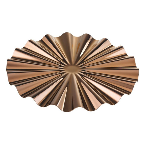 Kyma PVD Copper Show Plate, 12 1/4 x 5/8 inch