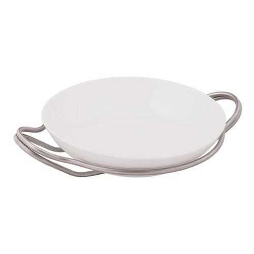 New Living Antico Porcelain Round Rice Dish Set, 14 1/4 x 3 1/2 inch
