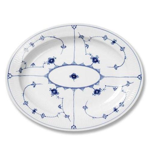 Royal Copenhagen Blue Fluted Plain | Oval Platter