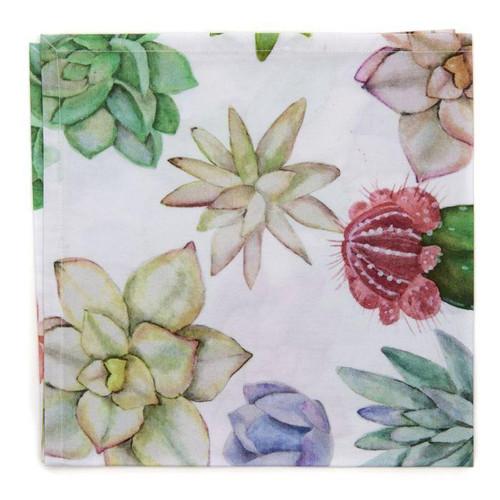 Printed Cotton Napkin - S/4 Cactus Print