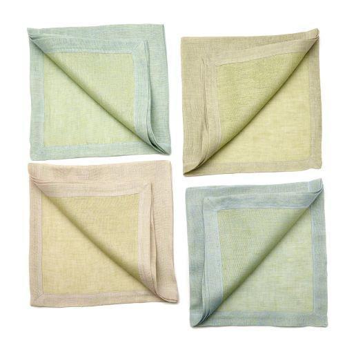 Reversible Linen Napkin S/4