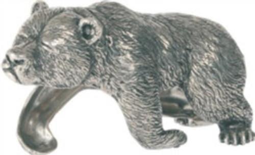 Sleeping Bear Pewter Napkin Ring  S/4