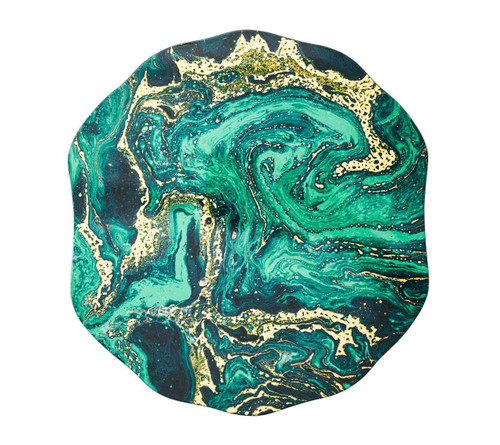 Cosmos Placemat S/4   Emerald