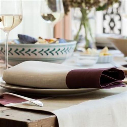 Cinta Linen Napkin | Burgundy