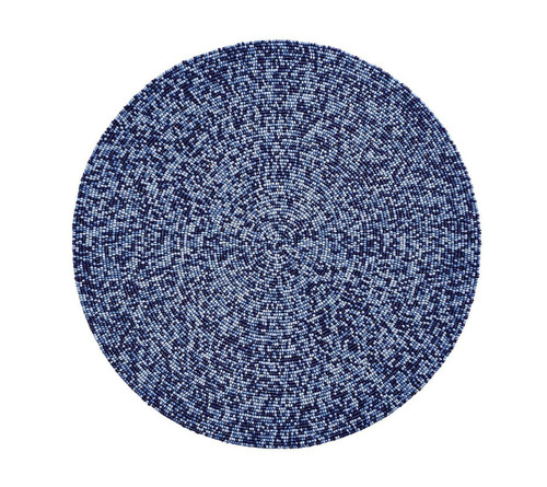 Confetti Placemats S/4   Navy