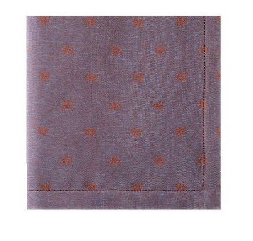 Api Coloniale napkins 22x22 inches S/4 | Navy Blue
