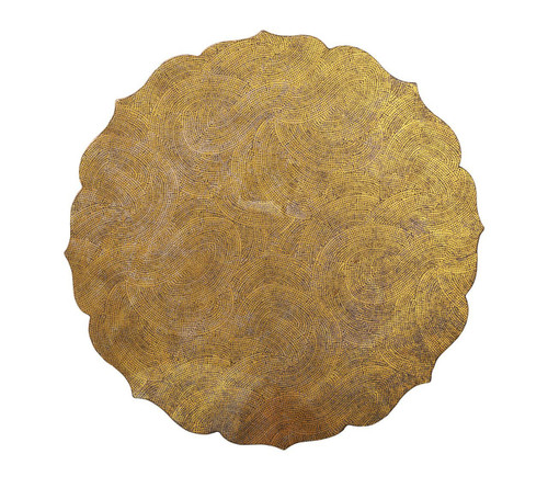 Tangier Placemats S/4   Gold
