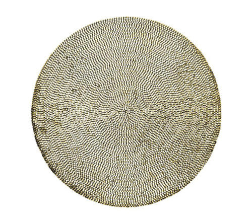 Patina Placemat   Champagne S/4