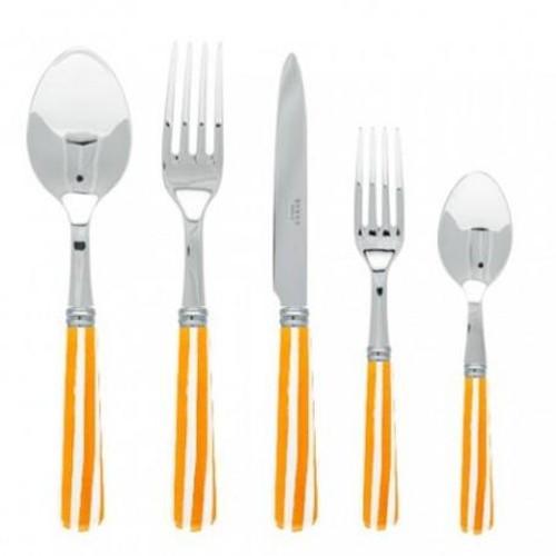 Sabre Stripe Orange Flatware