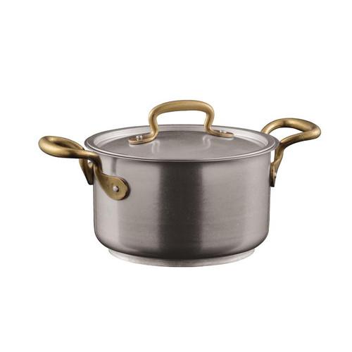Sambonet Stainless Steel Saucepan, 6 1/4 inch, 64 ounce