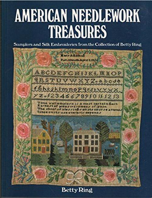 Betty Ring : American Needlework Treasures -original paperwork version,1967