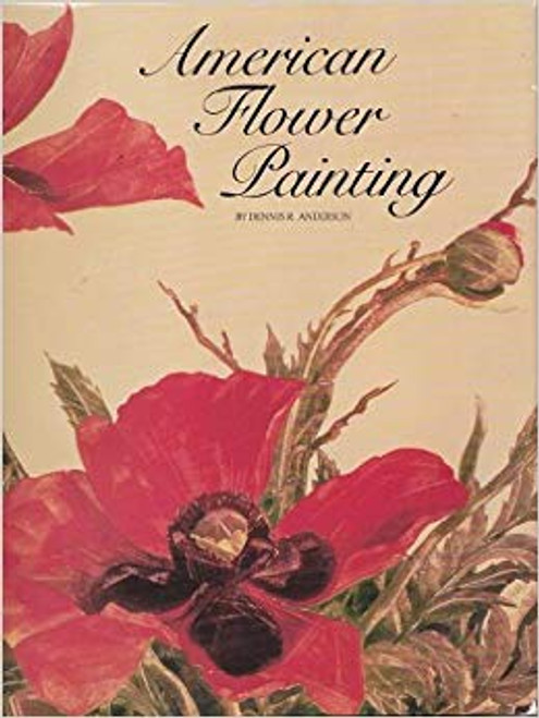 American Flower Painting by Dennis Anderson