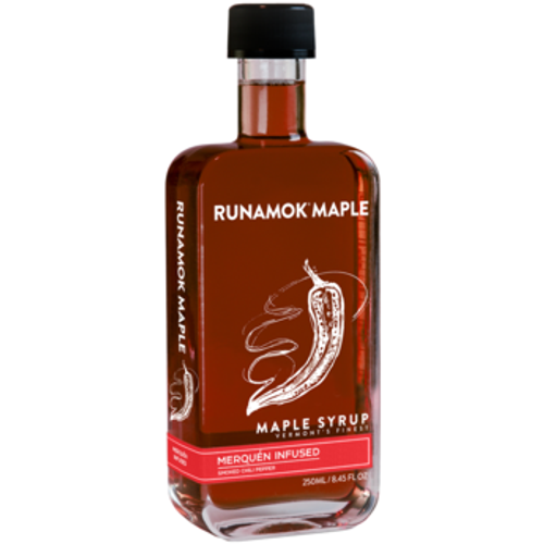 Smoked Chili Pepper Infused Maple Syrup