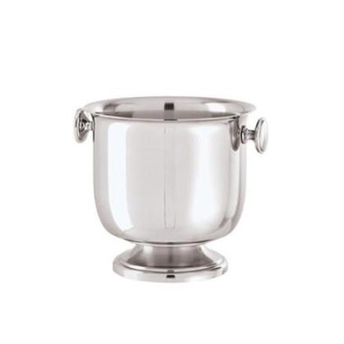 Elite Stainless Steel Ice bucket, 6 1/2 x 5 7/8 inch